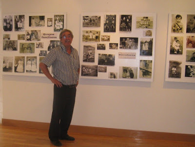 Goyo Carracedo. Organizador de las exposiciones