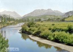 El río a su paso por Villayandre